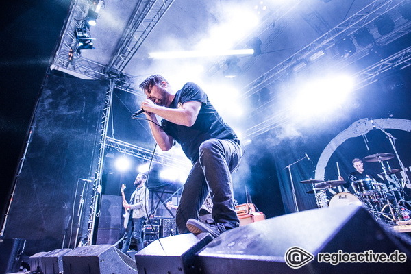 Edelmetal - Fotos: Silverstein live auf dem Traffic Jam Open Air 2016