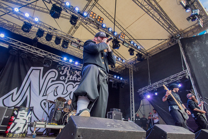 Nordlichter - Fotos: Rise Of The Northstar live beim Traffic Jam Open Air 2016