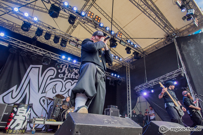 Rise Of The Northstar live auf dem Traffic Jam Open Air 2016
