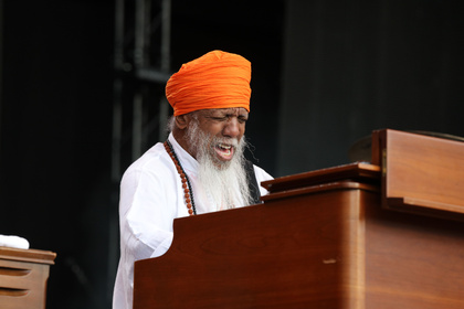 Jazz-Veteran - Fotos: Dr. Lonnie Smith live bei den Jazzopen Stuttgart