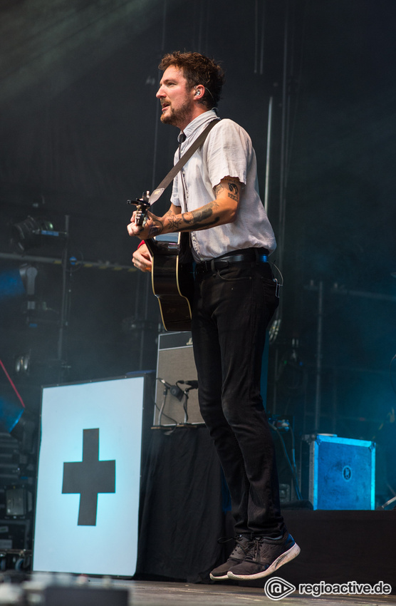 Frank Turner & The Sleeping Souls live in der Zitadelle Mainz